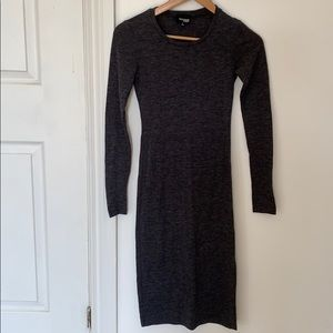 Wilfred Free MIDI Dress with slit on side